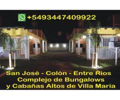 Complejo de Bungalows y Cabañas Altos de Villa María